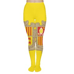 National Flag Of Andorra  Women s Tights