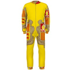 National Flag Of Andorra  Onepiece Jumpsuit (men)