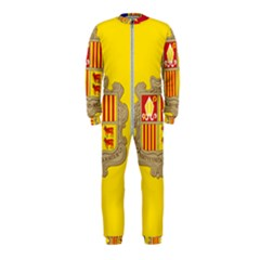 National Flag Of Andorra  Onepiece Jumpsuit (kids)