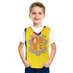 National Flag Of Andorra  Kids  Sportswear