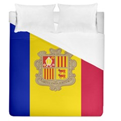 National Flag Of Andorra  Duvet Cover (queen Size)