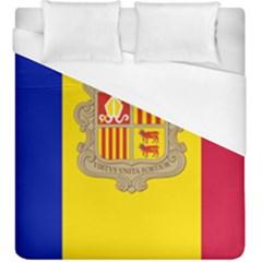 National Flag Of Andorra  Duvet Cover (king Size)