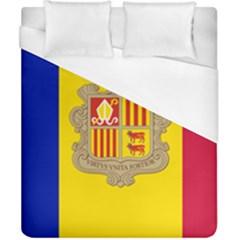 National Flag Of Andorra  Duvet Cover (california King Size)