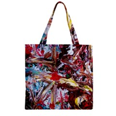 Eden Garden 1 Zipper Grocery Tote Bag by bestdesignintheworld