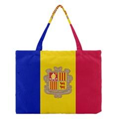National Flag Of Andorra  Medium Tote Bag