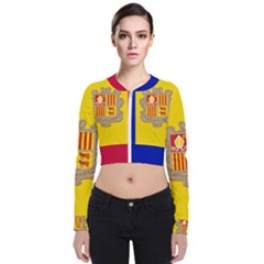 National Flag Of Andorra  Bomber Jacket
