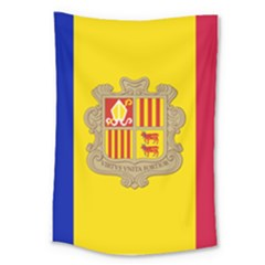 National Flag Of Andorra  Large Tapestry