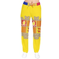 National Flag Of Andorra  Velvet Drawstring Pants