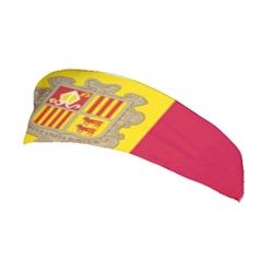 National Flag Of Andorra  Stretchable Headband