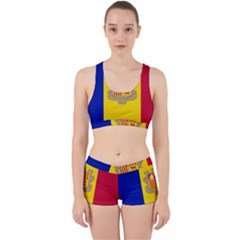 National Flag Of Andorra  Work It Out Gym Set