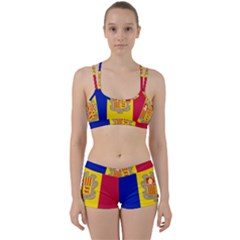 National Flag Of Andorra  Women s Sports Set