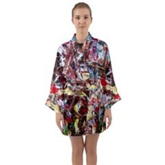 Eden Garden 1 Long Sleeve Kimono Robe