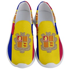 National Flag Of Andorra  Men s Lightweight Slip Ons
