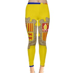 National Flag Of Andorra  Inside Out Leggings