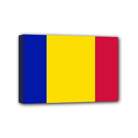 Civil Flag Of Andorra Mini Canvas 6  X 4