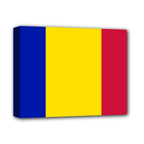Civil Flag Of Andorra Deluxe Canvas 14  X 11