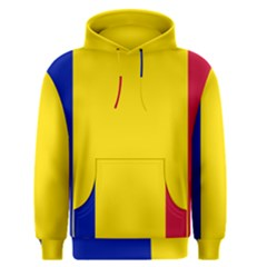 Civil Flag Of Andorra Men s Pullover Hoodie