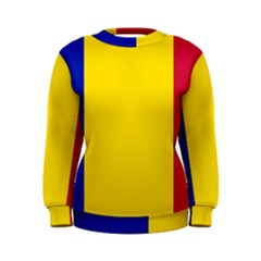 Civil Flag Of Andorra Women s Sweatshirt