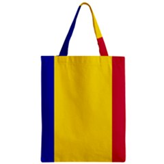 Civil Flag Of Andorra Zipper Classic Tote Bag