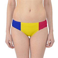 Civil Flag Of Andorra Hipster Bikini Bottoms