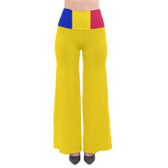 Civil Flag Of Andorra So Vintage Palazzo Pants