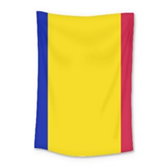 Civil Flag Of Andorra Small Tapestry