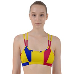 Civil Flag Of Andorra Line Them Up Sports Bra
