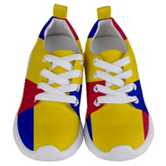 Civil Flag Of Andorra Kids  Lightweight Sports Shoes