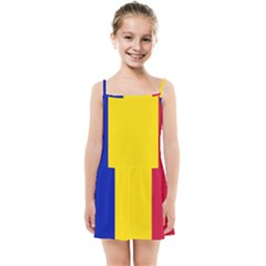 Civil Flag Of Andorra Kids Summer Sun Dress