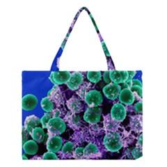 Staphylococcus Epidermidis Medium Tote Bag
