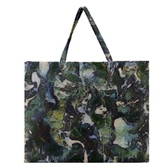 Beyond The Window Zipper Large Tote Bag by girleyjanedesigns