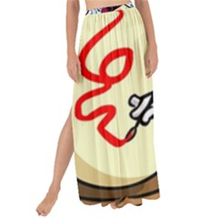 Bunny Easter Artist Spring Cartoon Maxi Chiffon Tie Up Sarong