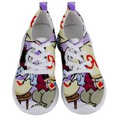Bunny Easter Artist Spring Cartoon Women s Lightweight Sports Shoes