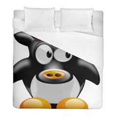 Cow Animal Mammal Cute Tux Duvet Cover (full/ Double Size)