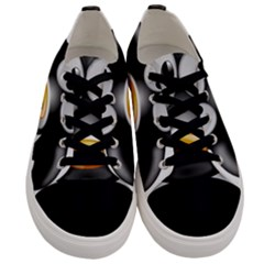 Cow Animal Mammal Cute Tux Men s Low Top Canvas Sneakers
