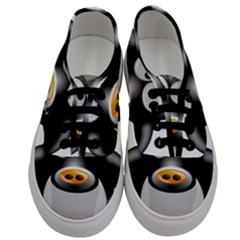 Cow Animal Mammal Cute Tux Men s Classic Low Top Sneakers