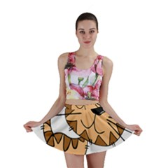 Cats Kittens Animal Cartoon Moving Mini Skirt