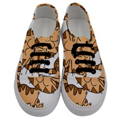 Cats Kittens Animal Cartoon Moving Men s Classic Low Top Sneakers