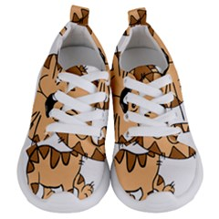 Cats Kittens Animal Cartoon Moving Kids  Lightweight Sports Shoes