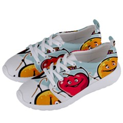 Dancing Fruit Apple Organic Fruit Women s Lightweight Sports Shoes by Simbadda