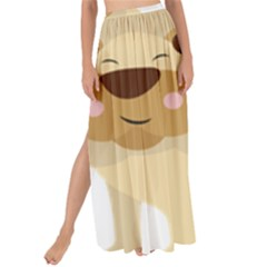 Lion Cute Sketch Funny Maxi Chiffon Tie Up Sarong