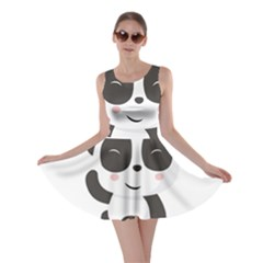Panda Bear Funny Cute Skater Dress