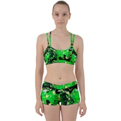 Old Tree And House With An Arch 6 Women s Sports Set