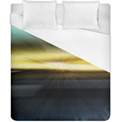 Hunstanton Beach At Summer  Duvet Cover (california King Size)