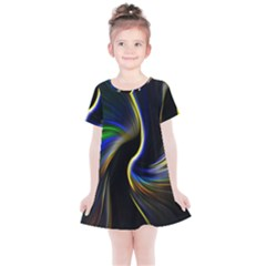 Church Abstract Kids  Simple Cotton Dress
