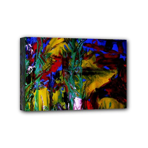 Night At The Foot Of Fudziama 1 Mini Canvas 6  X 4  by bestdesignintheworld