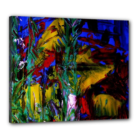 Night At The Foot Of Fudziama 1 Canvas 24  X 20  by bestdesignintheworld