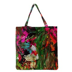 Sunset In A Mountains 1 Grocery Tote Bag by bestdesignintheworld