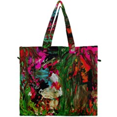 Sunset In A Mountains 1 Canvas Travel Bag by bestdesignintheworld
