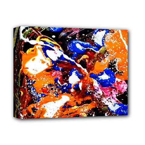 Smashed Butterfly Deluxe Canvas 14  X 11  by bestdesignintheworld